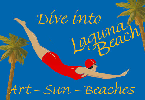 Anonymous Artists - Dive Into Laguna Beach border=