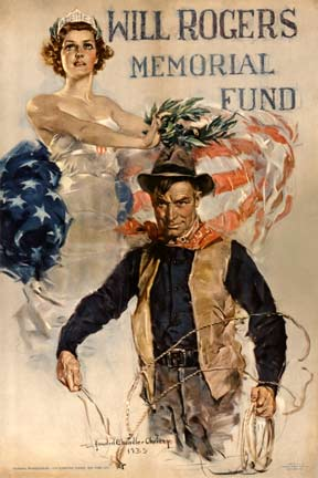 Howard Chandler Christy - Will Rogers Memorial Fund border=