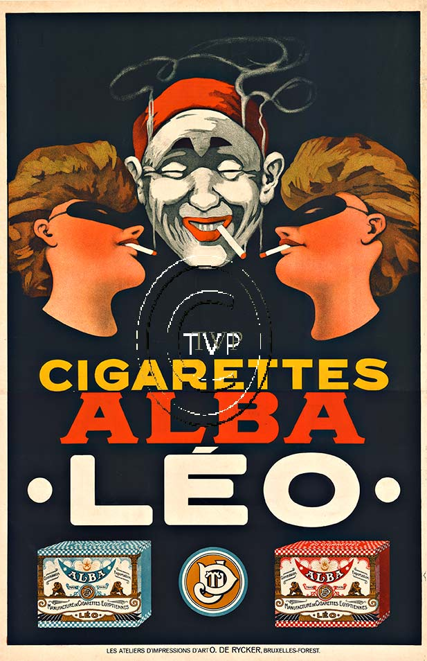 Anonymous Artists - Cigarettes Alba Leo border=
