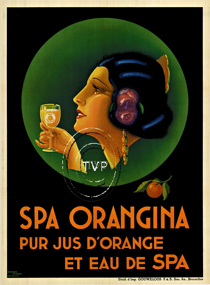 Anonymous Artists - Spa Orangina border=