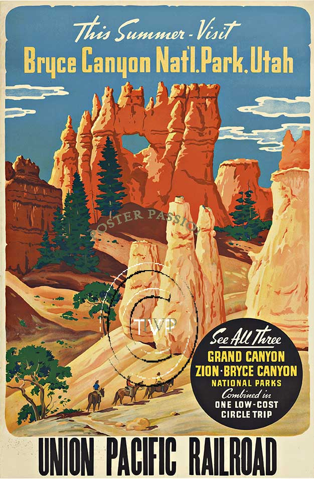 Anonymous Artists - Bryce Canyon National Park, Utah border=