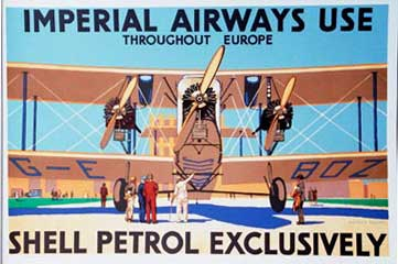 Dacres Adams - Imperial Airways use Shell border=