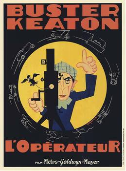 Title: L'Operateur Buster Keaton , Size: 29.5