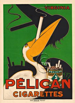Title: Pelican Cigarettes , Size: 23 x 41 , Medium: Archival Ink Print , Price: $249