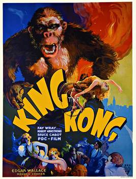 Title: King Kong , Size: 40 x 26 , Medium: Giclee