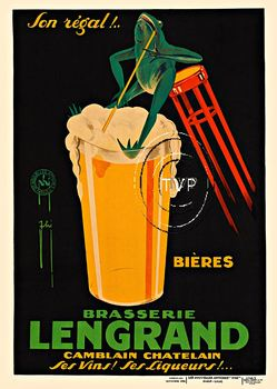 Title: Lengrand Brasserie (Frog) , Date: R1926 , Size: 41 x 29