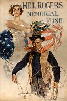 Title: Will Rogers Memorial Fund , Date: R-1935 , Size: 28 x 42