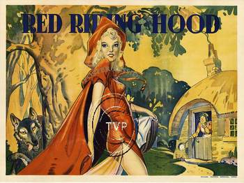 Title: RED RIDING HOOD , Size: 40