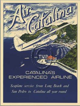 Title: AIR CATALINA , Size: 18 x 24