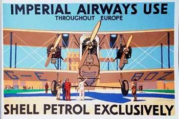 Title: Imperial Airways use Shell , Size: 44 x 30